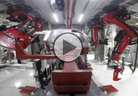 Symphony Of Robots Building Tesla Model X – Amazing!