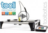 Tooli Modular CNC Machine Can Plot, Airbrush, Laser Engrave And Dispense!!