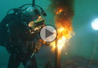 What Is It Like Working As An Underwater Welder?