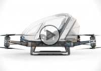 Ehang 184 One-Seater Drone – Special Kind Of Crazy!!