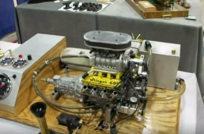 Smallest Production V8 Engine