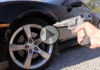 How Many Car Tires Will a 500 S&W Magnum Penetrate?