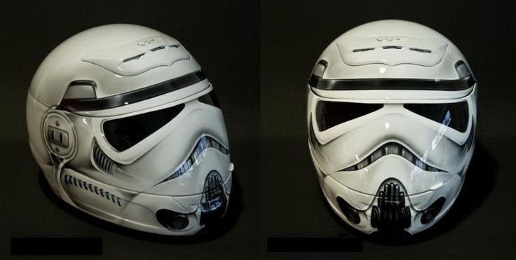 The Coolest Custom Made Motorcycle Helmets