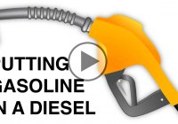 Putting Gasoline In A Diesel Car – What Happens?