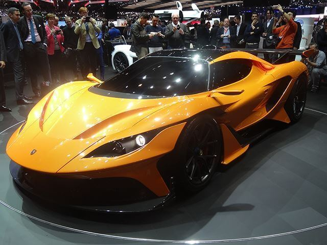 Geneva Motor Show Top Mind Blowing Hypercars