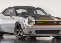 The first ever AWD Dodge Challenger Concept!