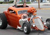 Jeff Dunham's Achmedmobile hot rod! Funny, cool, unique!