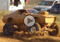 4×4 3rd Gen Chevrolet Camaro mud bogger hitting the mud!
