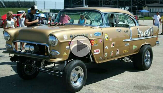 Chevy Bel Air Gasser