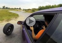 Drifting failed – When your tire decides it has had enough!