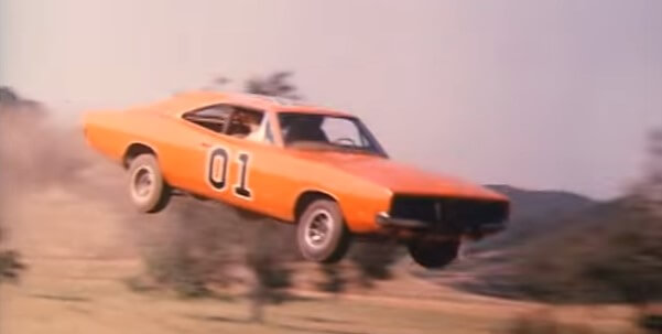 Every General Lee Jump From The Show The Dukes Of Hazzard