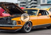 Mid-engine 1970 Mustang Mach 1 with Ford GT power!