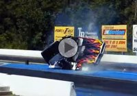Pontiac Firebird burnout goes horribly wrong!