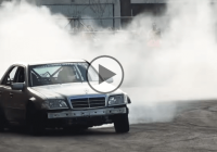 V12 Mercedes Benz perfect drifting – Gymkhana Style!