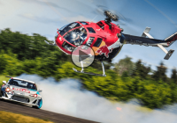 1000HP Toyota GT86 vs. RedBull Helicopter in a thrilling chase!