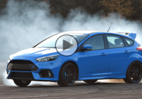 2016 Ford Focus RS comes with a Drift Mode!