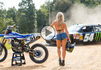 Justin Barcia 'Motorhead' and his wicked Yamaha take a joyride!