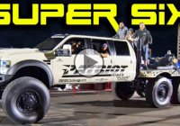 Super Six Ford, the awesome 6x6x6 Ford F-550 diesel truck!