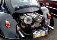 Volkswagen Beetle with an LT1 V8 engine swap – Bugzilla!