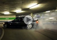 Epic drifting – leaving a parking lot like a boss!!!