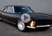 Flat black custom 1963 Buick Riviera by Fesler!