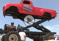 High Altitude – the tallest truck in the world!