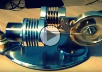 Amazing Homemade External Combustion Engine – Stirling engine!!