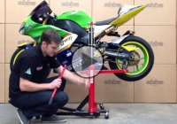 The Abba Sky Lift – The Ultimate Motorcycle Lift!