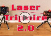 DIY Laser Tripwire Alarm – Home Made Security System!!
