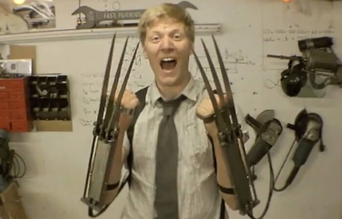 DIY Wolverine Claws