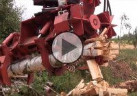 The RaMeC Firewood Processor Is One Badass Machine!