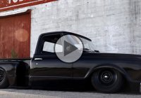 "1967 Chevy C10 hot rod truck ""Coaltrain"" slammed to the ground!"