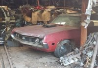 1970 Ford Torino Cobra Jet 429 convertible found in a barn!