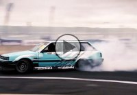 1JZ powered Nissan Wagon is one mean drifter