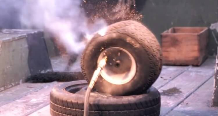 Tire Explode At 170 PSI