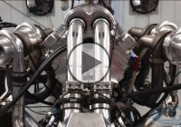 Watch as Devel Sixteen's Quad-turbo V16 Engine Go Mad On a Dyno!