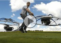 Inventor Colin Furze Made A Homemade Hoverbike!