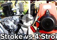 Difference Between 2 Stroke Engine vs 4 Stroke Engine!