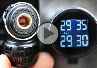 How to Install a Tire Pressure Monitoring System in Your Car!