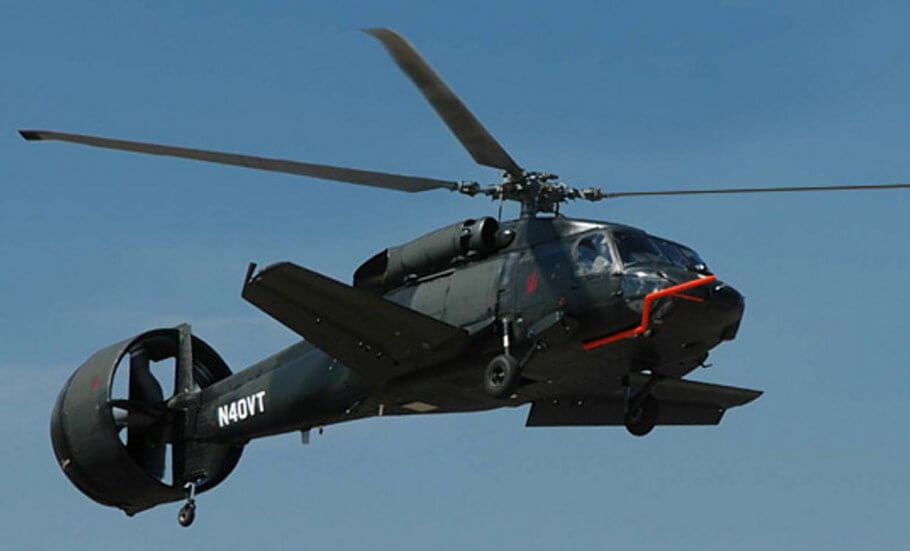 Piasecki X-49A Helicopter