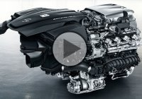 The All-new Mercedes' V-8 Engine Thrusts Power Into a New Era!