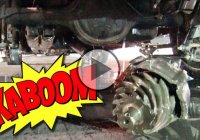 Differential EXPLODES At Drag Strip And Punctures The Gas Tank!