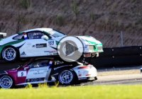 Bizarre crash at Porsche Carrera Cup will leave you speechless!
