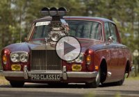 1974 Blown Rolls Royce, a custom build that has it all!