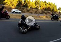 Brand new Yamaha R6 gets wrecked on a Sunday course