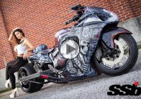 Custom Suzuki Hayabusa and its awesome uniqueness!!!
