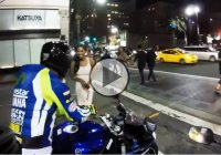 Getting girls attention with a motorcycle – the right way!!!