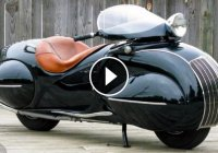 Honda Shadow 600 disguised as a Henderson 1930:Reliving the past!