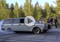 Turbo LS7 Volvo wagon is putting other cars to shame!