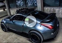 Lifted Nissan 350Z goes for the off-road adventure!